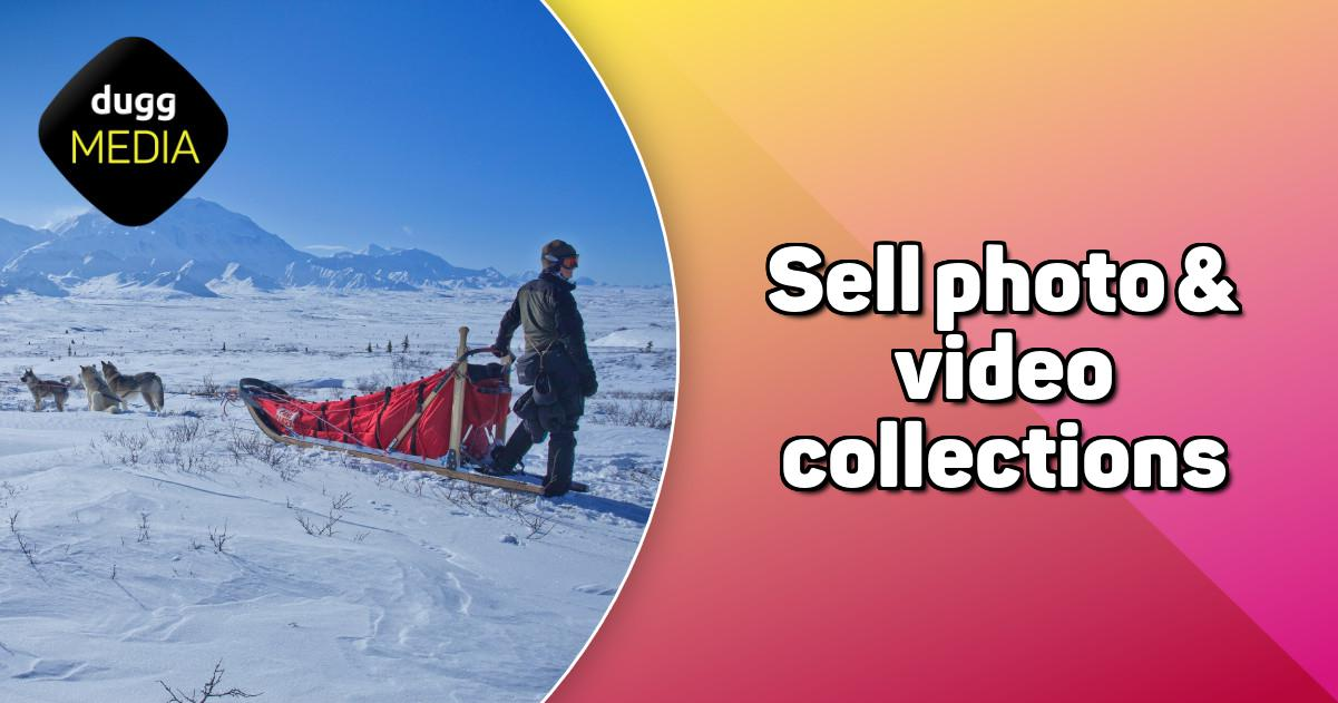 Sell photo & video collections | DuggMedia